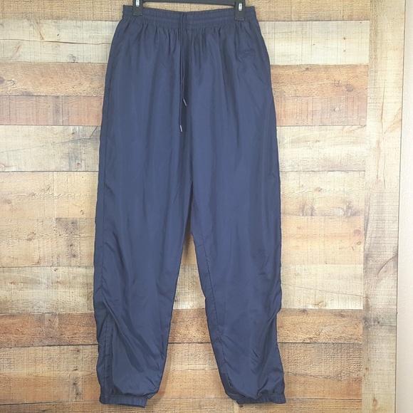 2093d0b3ef0 Reebok Pants | Athletic Jogger Mens Size L Dark Blu | Poshmark